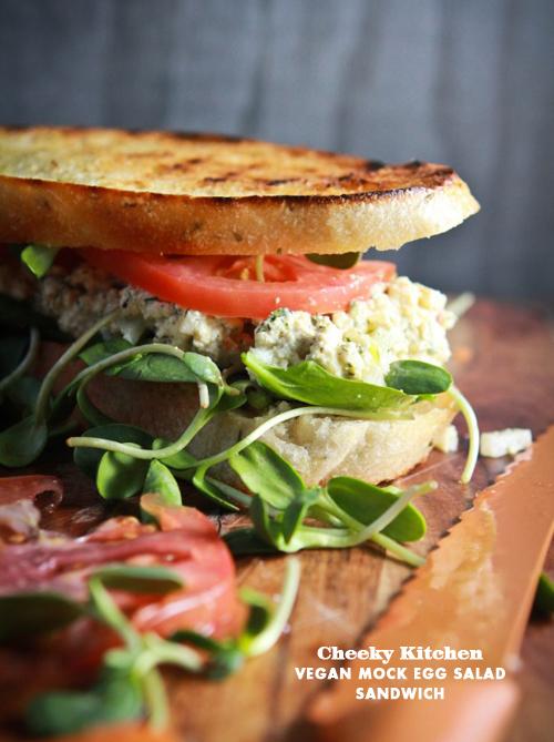 Foodie Crush A Cheeky Kitchen Tofu Egg Salad