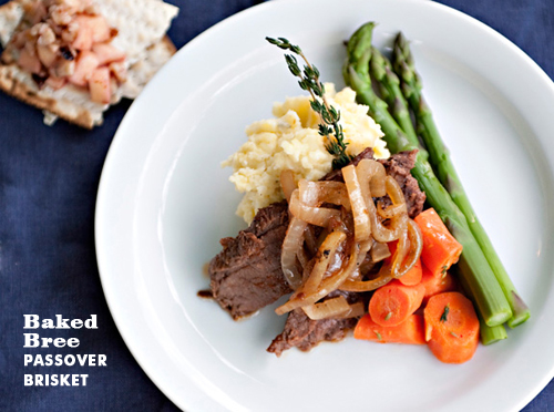 Foodie Crush Baked Bree Passover Brisket