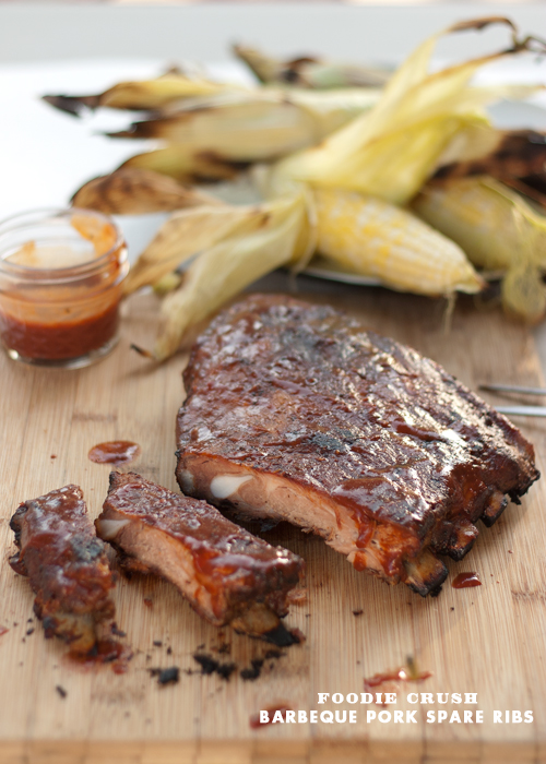 Foodie Crush Barbeque Pork Spare Ribs