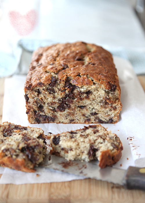 Chocolate chip banana cake recipe uk