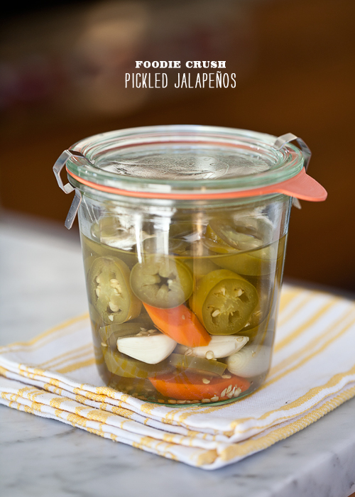 Foodie Crush Pickled Jalapenos