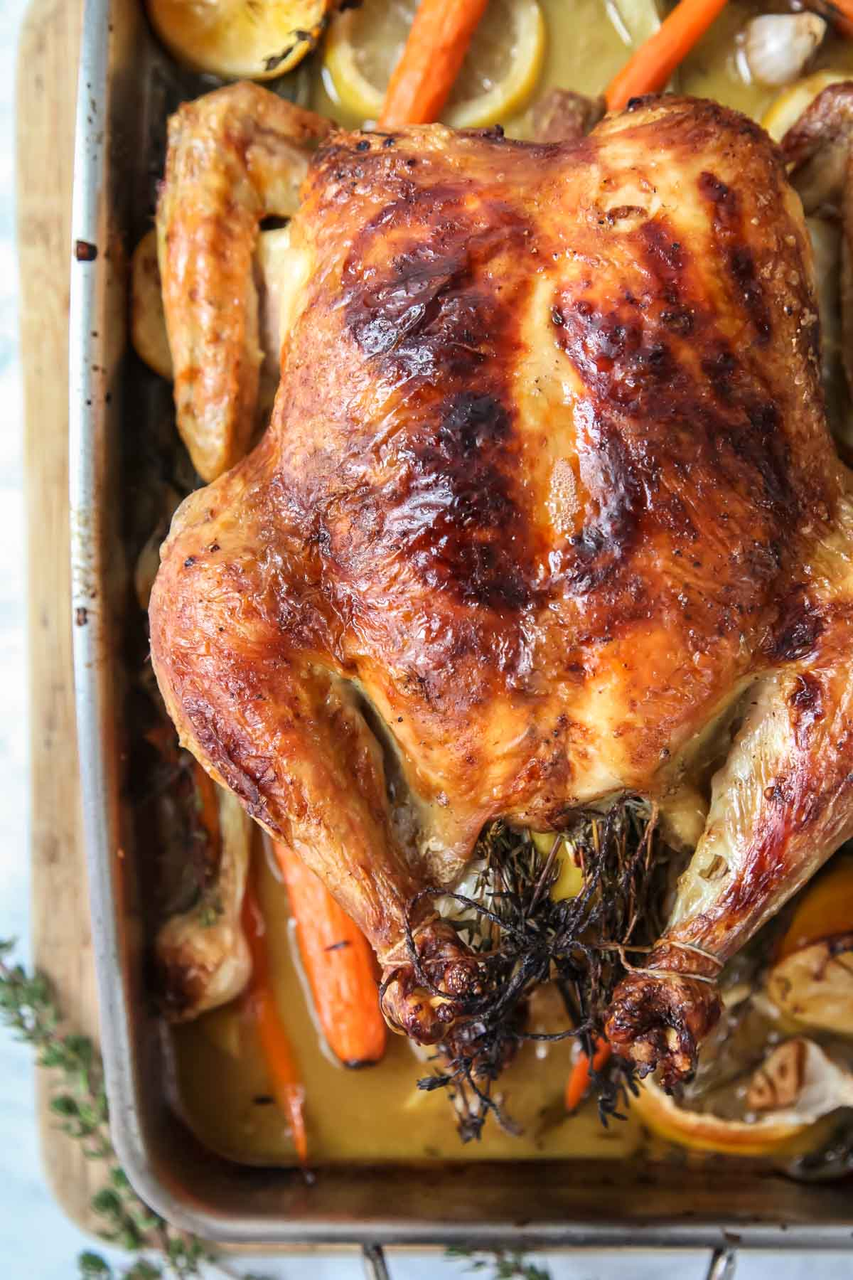 5 Easy Tips For Juicy Roast Chicken Foodiecrush Com