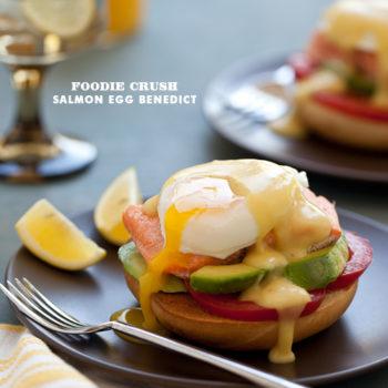Foodie Crush Salmon Egg Benedict