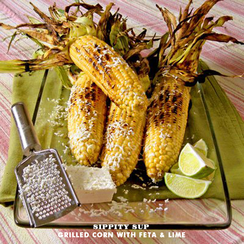 Foodie Crush Sippity Sup Grilled Corn