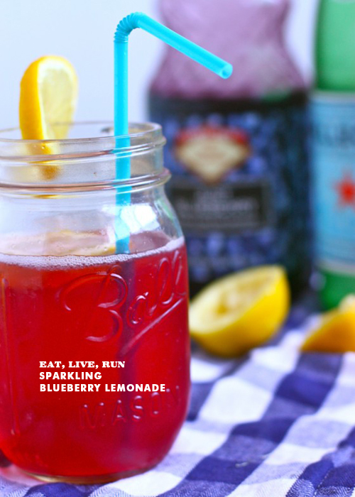 Foodie Crush Eat Live Run Sparkling Blueberry Lemonade