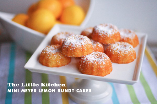 Foodie Crush The Little Kitchen Meyer Lemon Bundt Cake