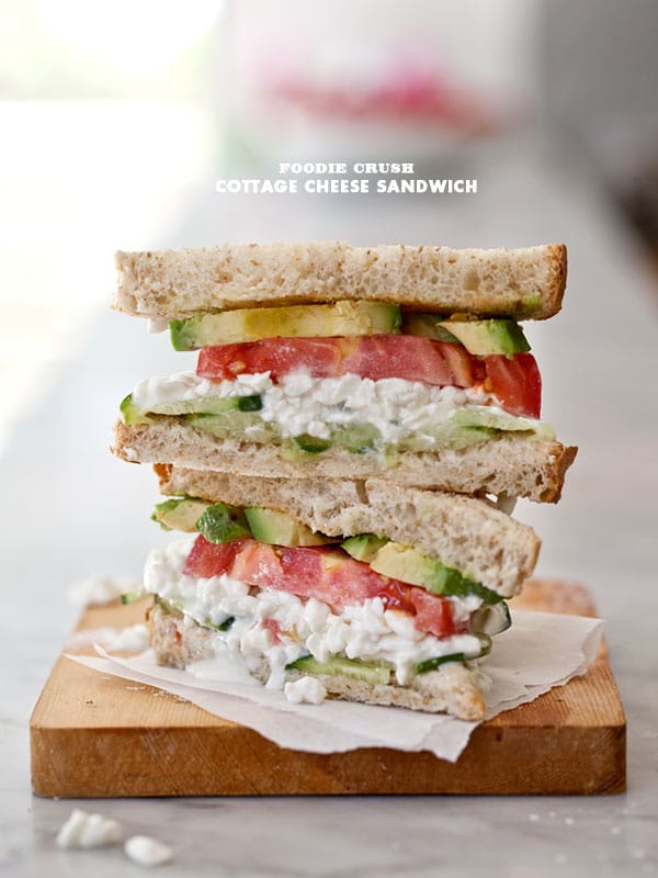 Amazing A Simple Cottage Cheese Sandwich Download Free Architecture Designs Grimeyleaguecom
