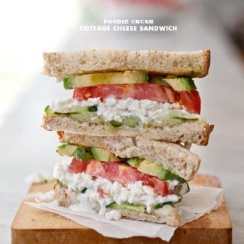 recipe Cottage Cheese Sandwich