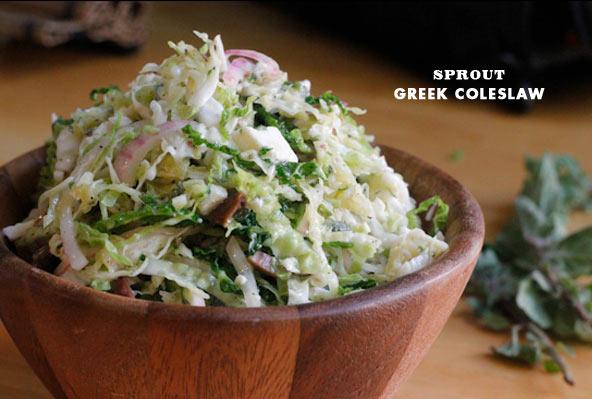 Greek Coleslaw Sprout