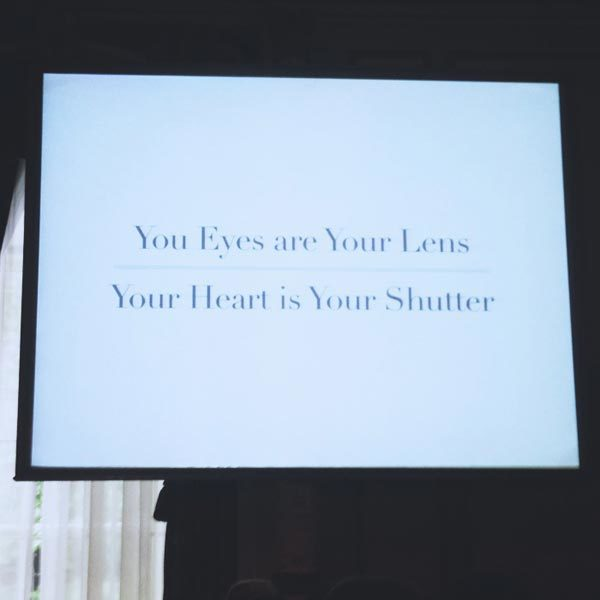 Blogher Food 2012 White on Rice quote Seattle Washington