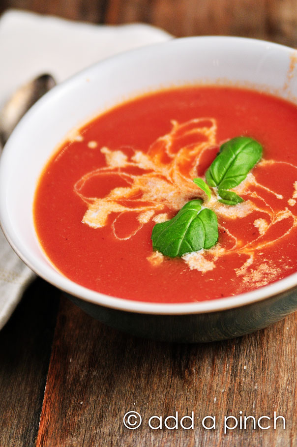Tomato Soup from Add a Pinch on foodiecrush.com