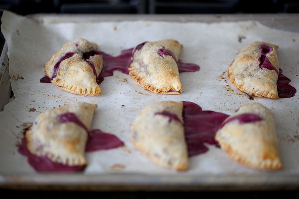Cherry Cheese Hand Pies from FoodieCrush