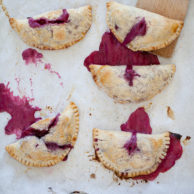 Cherry Cheese Hand Pies from FoodieCrush.com