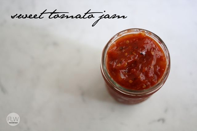 Sweet Tomato Jam from Food Loves Writing on foodiecrush.com