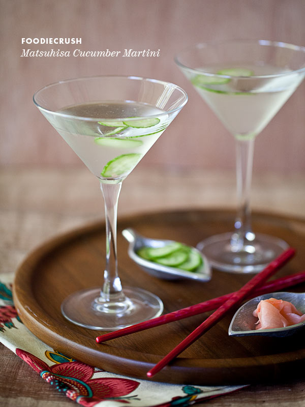 Matsuhisa Martini Recipe from FoodieCrush.com