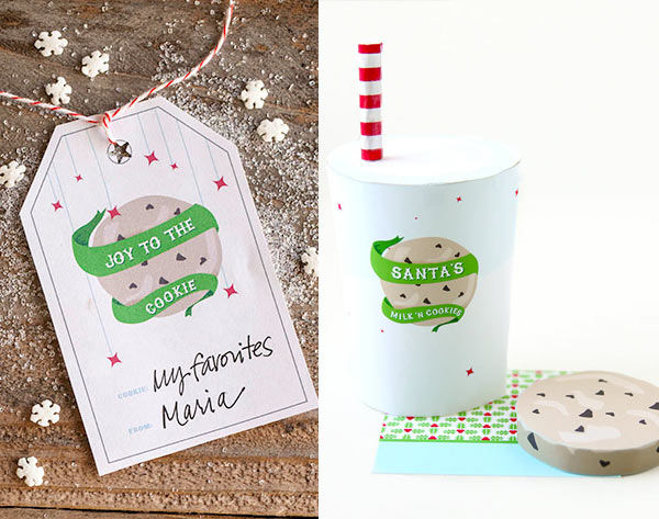 Holiday Cookie Cravings Tags and Foldable from The Faux Martha