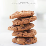 Chocolate Chip Peanut Butter Cookies from foodiecrush.com