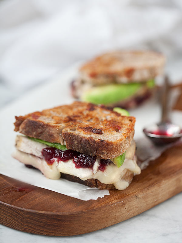 10 Cranberry Recipes Plus A Turkey Cranberry And Grilled Brie Cheese Sandwich Foodiecrush