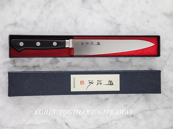 Korin Togiharu Giveaway || FoodieCrush.com