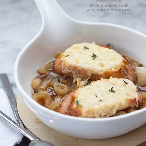 French Onion Soup from foodiecrush.com