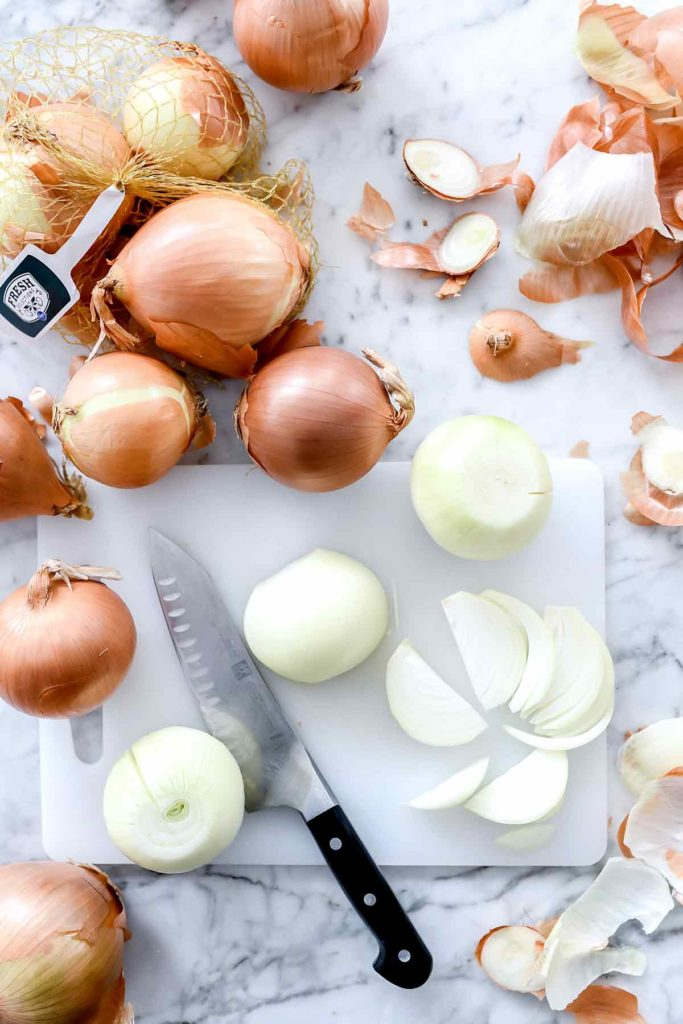 Sliced Onions | foodiecrush.com