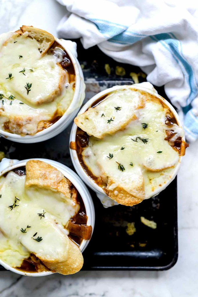 The Best French Onion Soup | foodiecrush.com #easy #recipe #best #soup #onion #frenchonion