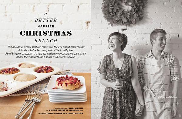 A Better Happier St. Sebastian featured in FoodieCrush magazine