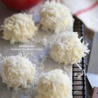Coconut Snowball Cookies || FoodieCrush