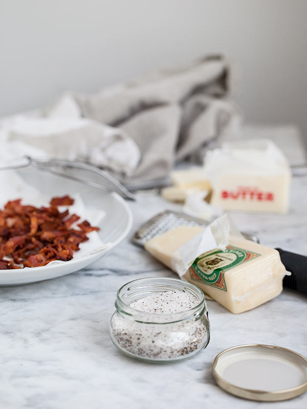 Truffle Bacon Popcorn || FoodieCrush #recipe