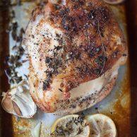 The secret to juicy Roast Turkey Breast    foodiecrush.com #recipe