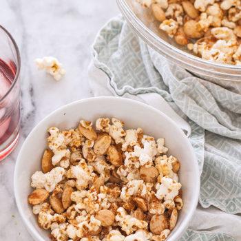 Sweet & Spicy Popcorn || FoodieCrush