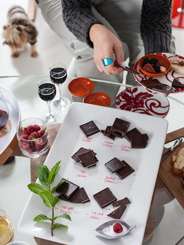 Ghirardelli Chocolate Tasting || FoodieCrush.com
