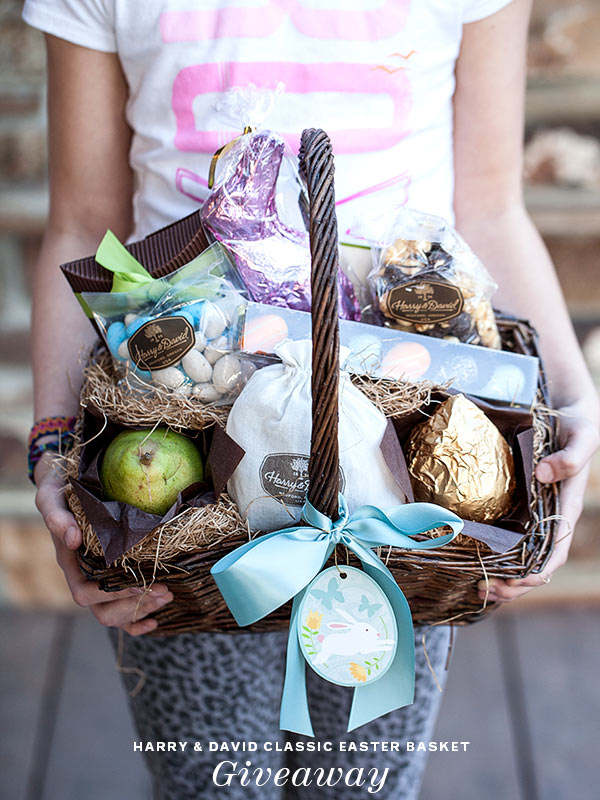 Harry & David Easter Basket Giveaway | FoodieCrush.com
