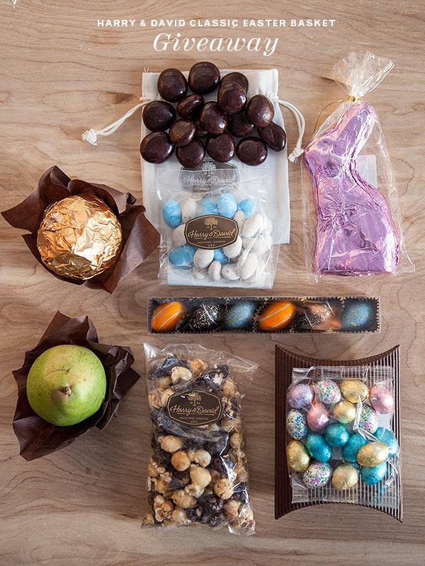 Harry & David Easter Basket Giveaway   FoodieCrush.com