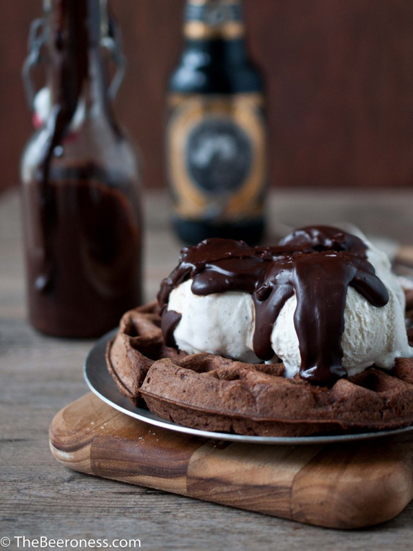 Waffle-Sundae-with-Chocolate-Stout-Fudge-Sauce5