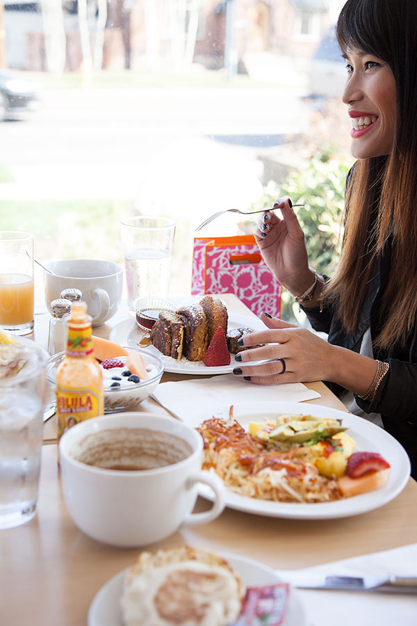 Girl's Brunch Rewards | foodiecrush.com  ##escapewithdarkchocolate and @ghirardelli