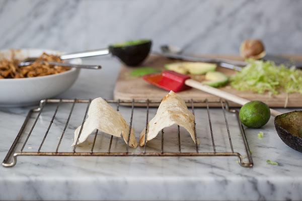 Stewed Chicken Tacos | foodiecrush.com