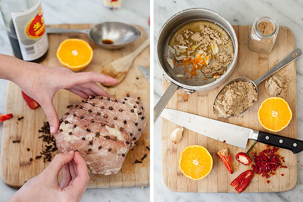 Jambon-asiatique-glacé-collant-FoodieCrush.com-009