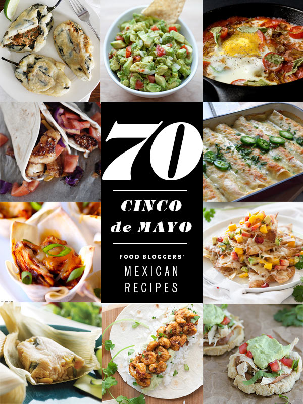cinco de mayo food recipe roundup