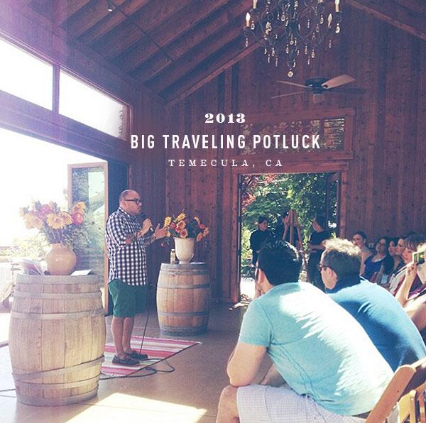 Big Traveling Potluck | foodiecrush.com