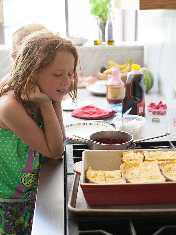 Baked Stuffed Orange French Toast | foodiecrush.com