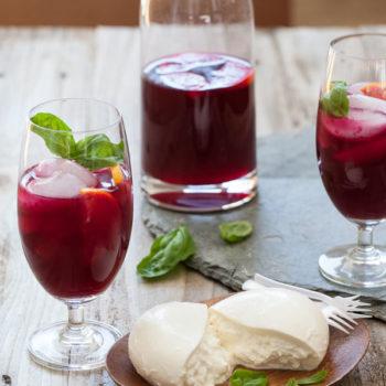 Beet Lemonade | foodiecrush.com