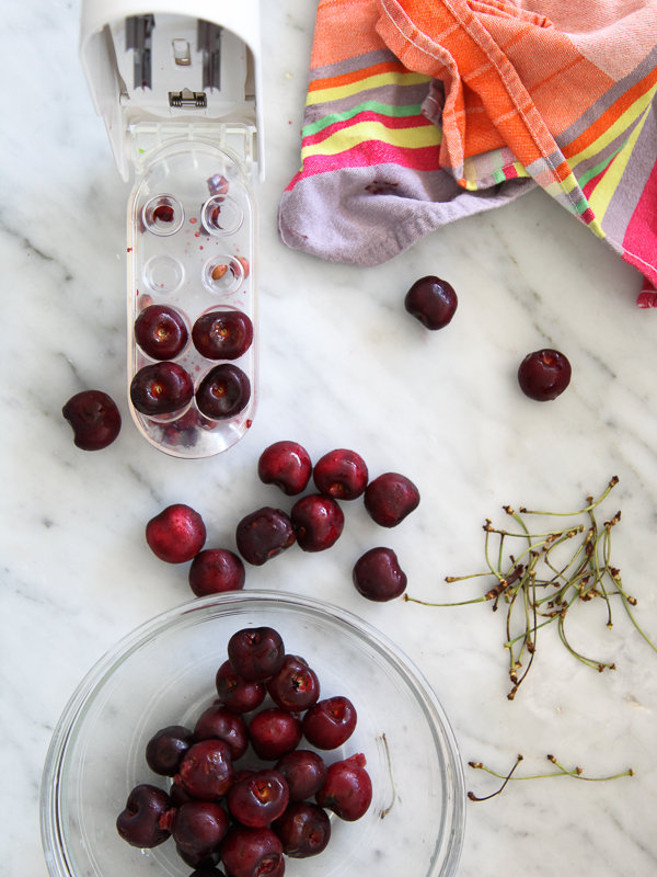 Whole Cherry Syrup | FoodieCrush.com