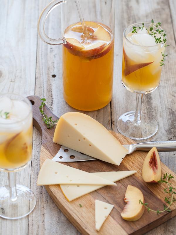 Peach Sangria | foodiecrush.com