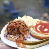 Pulled Pork Sandwiches   FoodieCrush.com