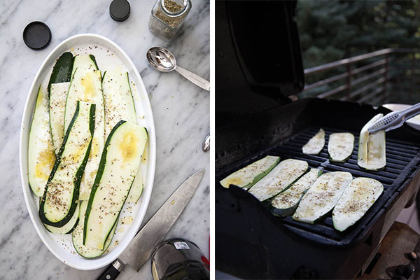 Grilled Zucchini | foodiecrush.com