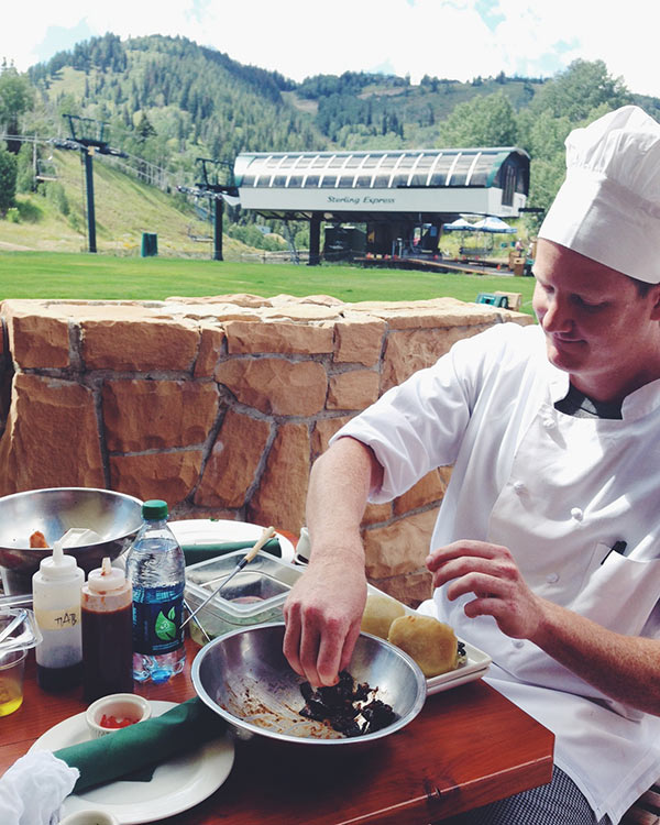 Chef Chris Gibson Deer Valley Resort | foodiecrush.com