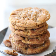 Flourless Peanut Butter Cookies are gluten-free and delicious | FoodieCrush.com