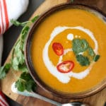 Thai Pumpkin Soup foodiecrush.com
