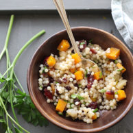 Autumn Couscous Salad | foodiecrush.com